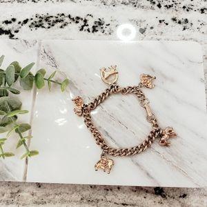 Horse lovers charm bracelet